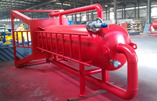 Mud gas separator for Maysia Client