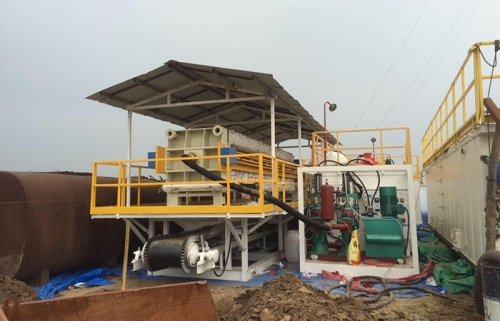 Filter Unit for drilling waste management
